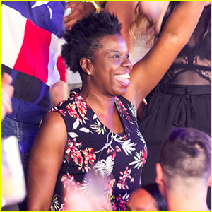 Leslie Jones Forgets About the Haters with Fun Night in Vegas