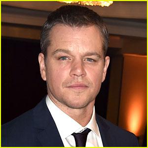 Matt Damon Speaks Out About Gun Control