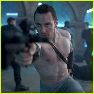 Michael Fassbender Goes Shirtless for New 'Assassin's Creed' Still!