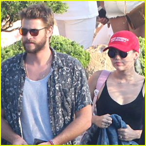 Miley Cyrus & Liam Hemsworth Grab Sunday Dinner at Nobu