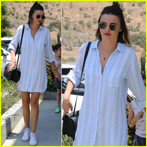Miranda Kerr Has an Afternoon Out in Malibu