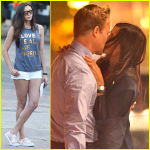 Nina Dobrev Kisses James Norton for 'Flatliners' Filming