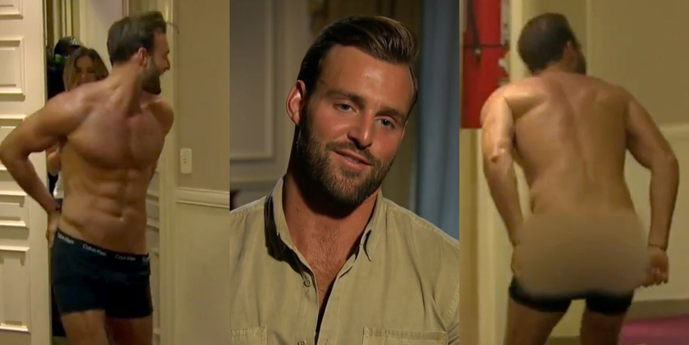 The Bachelorettes Robby Strips Down Flashes Butt For JoJo Fletchers Dare Video