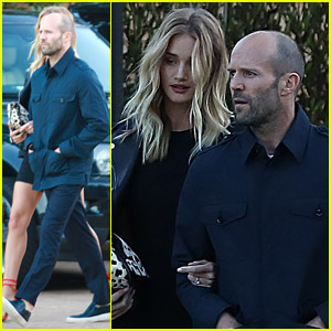 Rosie Huntington-Whiteley & Jason Statham Celebrate the Fourth in Malibu