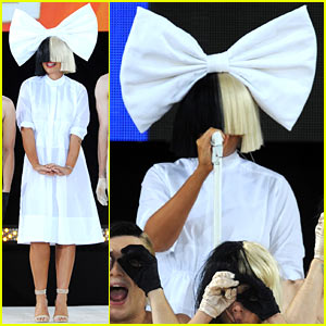 Sia Admits to Crying in Her Dressing Room Before 'GMA' Performance!