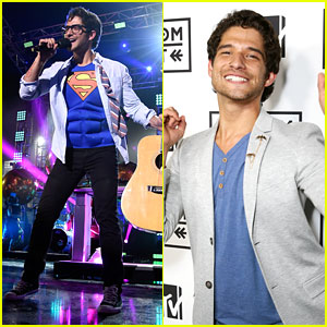 Tyler Posey Becomes Superman On Stage at MTV Fandom Awards 2016