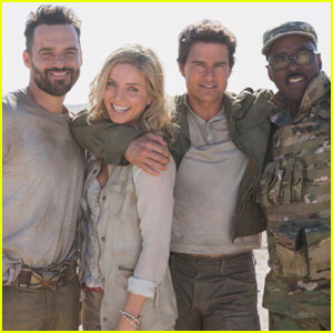 Tom Cruise & Annabelle Wallis Bring 'The Mummy' to Africa