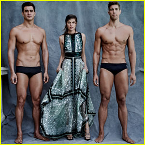 US Olympians Go High Fashion for 'Vogue' Shoot