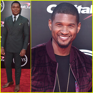 Usher & David Oyelowo Present at ESPY Awards 2016