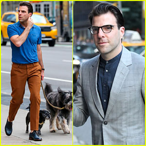 Zachary Quinto Pays Tribute to Anton Yelchin on 'Late Show'