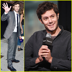 Adam Brody Hits NYC To Promote His Crackle Series 'StartUp'!