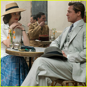 Brad Pitt & Marion Cotillard: 'Allied' First Look Photo Revealed!