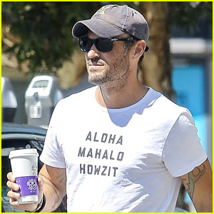 Brian Austin Green Steps Out to Curb His Caffeine Craving