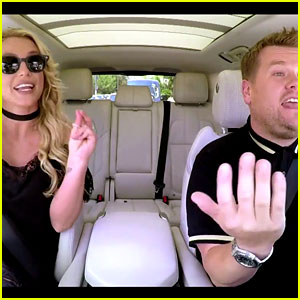 Britney Spears Sings Along to 'Toxic' in Carpool Karaoke Promo - Watch Now!