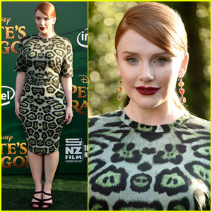 Bryce Dallas Howard Flies With Elliot a Final Time at 'Pete's Dragon' Premiere