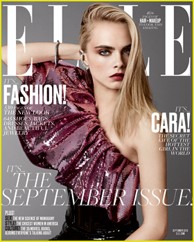 Cara Delevingne Tells 'Elle' That 'Emotions Should Be Put First'!