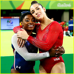 Celebs React to Simone Biles & Aly Raisman's Wins in Rio!