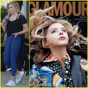 Chloe Moretz is a Gorgeous 'Glamour UK' Cover Girl!