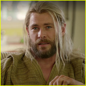Chris Hemsworth Hilariously Shows What Thor Has Been Up To