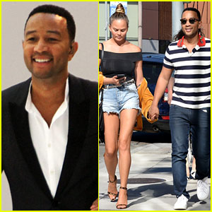 Chrissy Teigen Pushes John Legend's Buttons While Watching the Olympics!