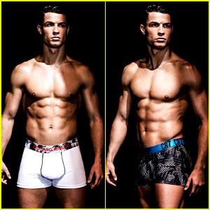 Cristiano Ronaldo Shows His Ripped Body for Underwear Line!