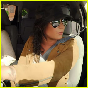 Demi Lovato Goes Undercover as a Lyft Driver - Watch Now!