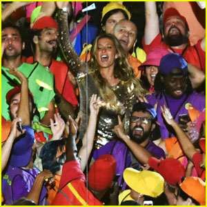 Gisele Bundchen Is Having a Blast at the Rio Olympics! (Video)