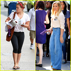Hilary Duff Is Missing L.A. While Filming 'Younger' In NYC!