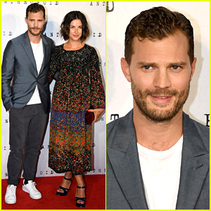 Jamie Dornan Brings Wife Amelia Warner to 'Anthropoid' London Premiere