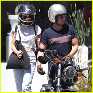 Josh Hutcherson Shops Around With Claudia Traisac On Day Off