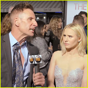 Kristen Bell Actually Slapped That Reporter for Comedy Central's 'Junketeers'! (Exclusive Video)