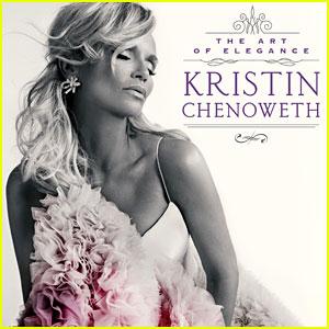 Kristin Chenoweth Reveals 'Art of Elegance' Album Artwork & Track Listing!