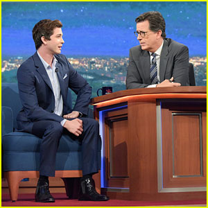 Logan Lerman Isn't Sure He Made a Good First Impression on Brad Pitt While Filming 'Indignation'