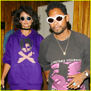 Miguel & Nazanin Mandi Have a Date Night in WeHo