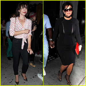 Milla Jovovich, Kris Jenner & Other Celebs Party at The Nice Guy!