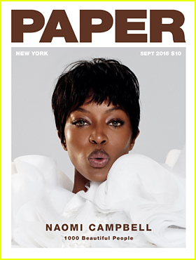 Naomi Campbell Tells 'Paper' Mag That Her 'Enthusiasm' About Modeling is Still the Same!