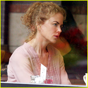 Nicole Kidman Films a Diner Scene for 'The Killing of a Sacred Deer'