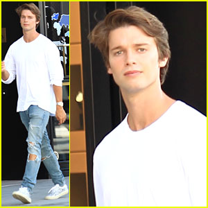 Patrick Schwarzenegger Celebrates National Dog Day with His Pup!