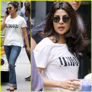 Priyanka Chopra Gets to Work on 'Quantico' in the Big Apple