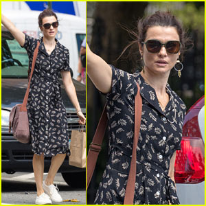 Rachel Weisz Enjoys a Summer Stroll in NYC