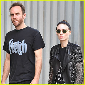 Rooney Mara & Boyfriend Charlie McDowell Step Out in the Big Apple