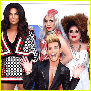 Frankie Grande & 'RuPaul Drag Race' All Stars Recreate Iconic Looks on the MTV VMAs 2016 Red Carpet!