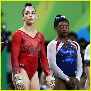 Simone Biles Wins Gold, Aly Raisman Takes Silver in Olympics' All-Around Final!