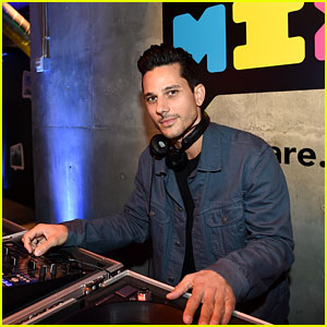 DJ Bobby French Spins Tunes at JJJ's Disney Mix Party