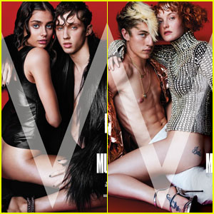 Troye Sivan & Lucky Blue Smith Face The Music on the Cover of 'V Magazine'