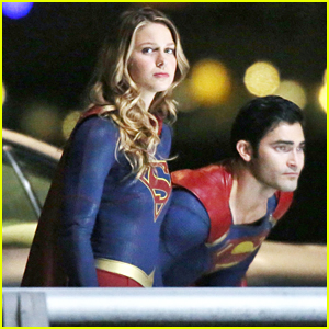 Tyler Hoechlin Fights Alongside Melissa Benoist For 'Supergirl' Night Scenes