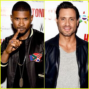 Usher & Edgar Ramirez Team Up At 'Hands Of Stone' Screening - Watch Trailer!