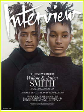 Jaden & Willow Smith Open Up About Their Parents' Influence for 'Interview' Magazine Cover Story
