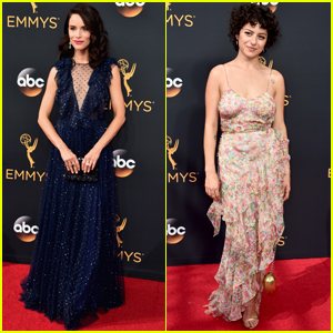Abigail Spencer & Alia Shawkat Step Out at Emmy Awards 2016