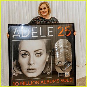 Adele's '25' Is Certified Diamond Platinum!